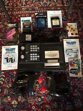 Colecovision Video Game System Super Action Controllers Games Lot Tested Working