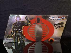 GI JOE COBRA LEGIONS 25th Anniversary 5 Pack Hasbro Action Figure 2007 G.I. Joe