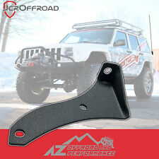 JCR Offroad Driver Side CB Antenna Mount - Black PC - for 97-01 Jeep Cherokee XJ