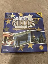 10 Days In Europe Strategy Board Game Out Of The Box Games 100% Complete