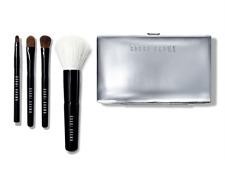 Bobbi Brown 5 PC Mini Brush Set Face Blender + Cream Shadow + Eye Shadow + Liner