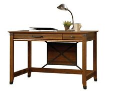 Writing Desk With Drawer Industrial Style Office Furniture Wood Secretary Laptop