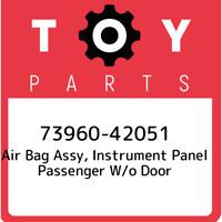 73960-42051 Toyota Air bag assy, instrument panel passenger w/o door 7396042051,