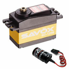 Savox SC-1256TG High Torque Titanium Gear Digital Servo + Glitch Buster JR HITEC
