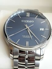 Christopher Ward 43mm C9 5 Day Automatic COSC Watch 31 Jewels Steel BraceletVGWO