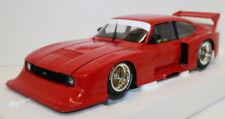 Modellini statici di auto da corsa rossa in plastica per Ford
