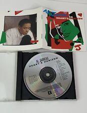 Al Jarreau Heart's Horizon 1988 Smooth Jazz Audio CD Analog Mix Reprise / Warner