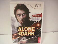 Wii ALONE IN THE DARK SOUND TRACK EDITION 2 disc Rated M VG manual