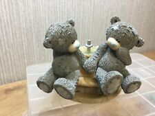 Me To You Bear Figurine Ornament Tatty Teddy Collectable Fountain Of Love Rare