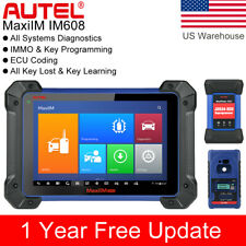 Autel IM608 IM508 IMMO Key Programming Scanner All System Auto Diagnostic Tool