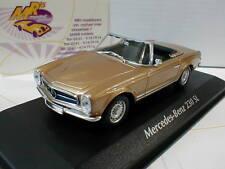"""Minichamps 940032230# Mercedes Benz 230 S Baujahr 1965 in """" Goldmetallic """" 1:43"""
