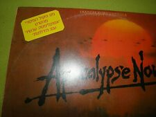Apocalypse Now Soundtrack Rare 1979 Israel Hebrew Sleeve The Doors / Mickey Hart