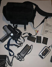 Sony Handycam Dcr-Trv130 Digital-8 Camcorder with extras Charger Battery Bag
