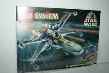 MANUALE LEGO SYSTEM STAR WARS SET 7140 X-WING FIGHTER USATO OTTIMO FR1 55368