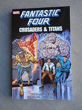 FANTASTIC FOUR CRUSADERS AND TITANS TPB VO NEUF/ MINT