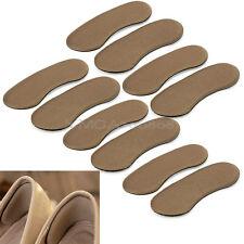 5 Pares Nuevas Almohadillas Antideslizantes Protector Cojín Talón Zapatos Mujer