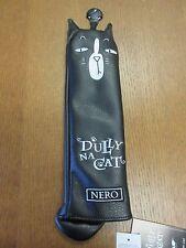 "NEW !!! DULLY NA CAT ANIMAL CAT GOLF HYBRID UTILITY HEAD COVER "" NERO """