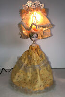 Beautiful Vintage Doll Lamp Leviton Korea