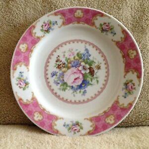 Decorative Floral Design China Porcelain Serving Dish Plate