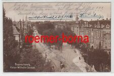 73021 Ak Braunschweig Kaiser Wilhelm Strasse 1904