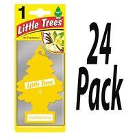 24 x Magic Tree Vanillaroma Scent Magic Tree Little Trees Car Home Air Freshener