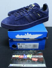 Adidas Originals Campus Dark Navy Blue Gold Sneakers Men's Size 11 New CQ2045