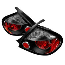 Dodge 03-05 Neon Black Euro Style Rear Tail Lights Brake Lamp Set