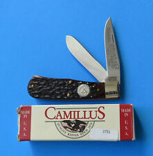 CAMILLUS USA Baby Bullet Trapper Knife CCC-5 NEW 1997 NKCA Remington 4356 Bone