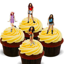 Little Mix  Pack of 12 Edible Cup Cake Toppers, Fairy Bun Decorations