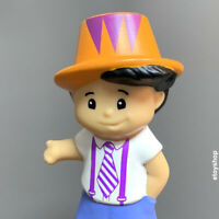 Fisher Price Little People youngth Boy with hat Figure kid toy doll Preschool