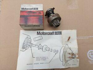 NOS Genuine Ford Motorcraft Starter Drive 1981 Mustang Fairmont Granada 2.3L