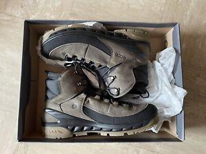 Ecco Mens Biom Terrain Mid Rise Yak Lea GORE-TEX Walking Hiking  Boots 11.5UK