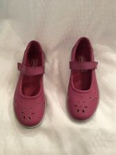 EUC Blair Haband Mushrooms Women's Mary Jane Shoes Size 5.5 M Color Pink