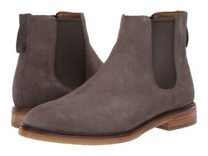 Men's Shoes Clarks CLARKDALE GOBI Suede Pull On Chelsea Boots 44704 TAUPE