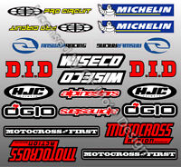 Motocross Sponsor Abziehbilder Suzuki RM RMZ 85 250 450 RMX DR-Z DR / 50
