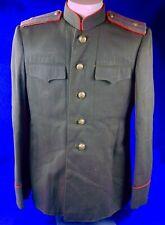 Soviet Russian Russia Ussr Ww2 Model 1943 Officer's Tunic Coat Uniform