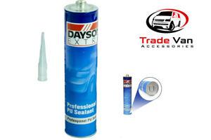 PU Bodyshop Seal BLACK PU Sealer, Adhesive Sealant, Seam, Badge, Trim, Glue.