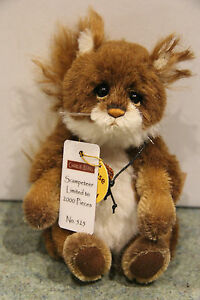 Charlie Bears - Scampeteer Squirrel - Minimo - BNWT