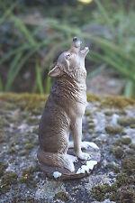 MO0461   FIGURINE  STATUETTE FAMILLE   LOUP LOUVE   ANIMAL SAUVAGE *