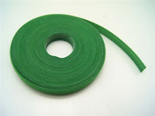Plant Ties 10 METRES x 10mm - High Quality Green Hook and Loop Garden Ties Roll