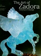 "Zadora ""America's"" Faberge Million $$ Jewelry Carved Gems objets d'art Sculpture"