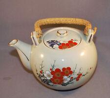 Antique Oriental design Hand painted Tea pot