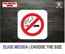 PROHIBIDO FUMAR NO SMOKING TABACO VINILO PEGATINA VINYL STICKER DECAL ADESIVI
