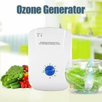 220V 400mg/h Ozone Generator Ozonator Sterilizer Air Water Food Vegetables