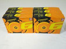 Brand New 6 Dozen Bridgestone E-6 Yellow Golf Balls - 6 dz e6 72 balls