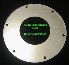 Rupp  T-500 Vintage Minibike Front Brake Disc  Cad Plated Just llike Originals