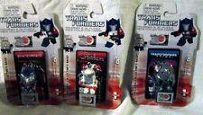 Lot of 3 NEW Hasbro Transformers Mini Figure & 3D Puzzle 30th Series 1