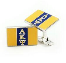 Alpha Kappa Psi Fraternity Custom-Made Flag Cuff Links   Suit & Tie -NEW!!