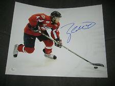 JSA Taylor HALL Signed Windsor SPITFIRES 11x14 Photo New Jersey Devils