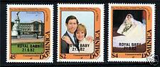 Dominica 1982 Birth of Prince William SG830/2 MNH